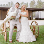 Houston Ranch Wedding: Milly and Stephen