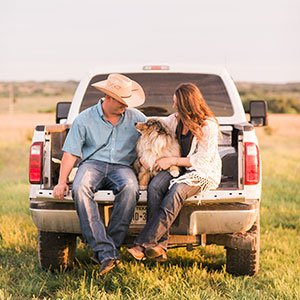 Farm Engagement: Lauren and Jeff